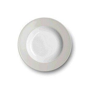 Teller tief 23cm Solid Color pearl Dibbern