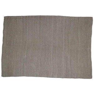 Wolldecke 125x150 cm Living schlamm weiß 100 % BW Kaheku