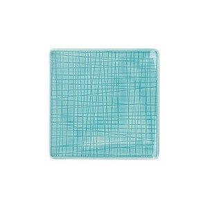 """Teller 14 cm x 14 cm quadratisch """"Mesh Aqua"""" Rosenthal"""