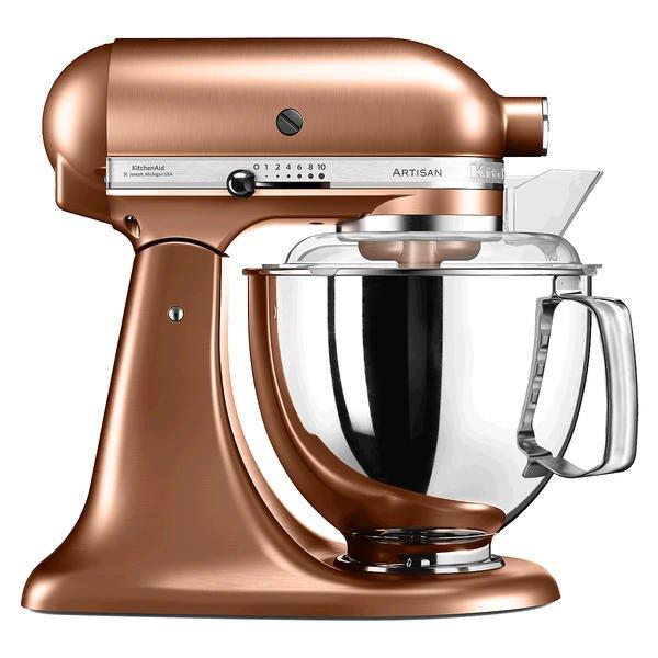 Küchenmaschine 300 Watt 5KSM175 Artisan kupfer - Küchenmaschinen ...