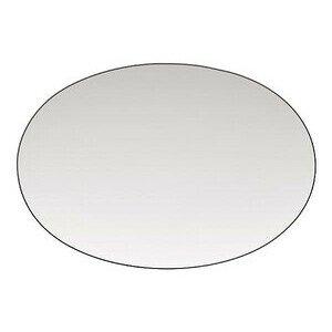 Platte 34,0 cm x 23,5 cm TAC Platin oval Rosenthal