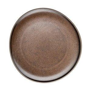 Teller flach 22 cm Junto Bronze Rosenthal