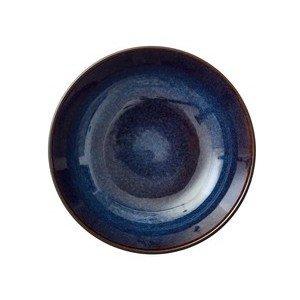 Salatschale 24 cm schwarz/dunkelblau Bitz