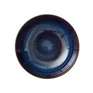 Salatschale 24 cm schwarz, dunkelblau Bitz