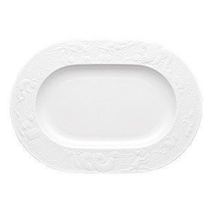 Platte 33 cm x 23,5 cm Zauberflöte Weiß oval Rosenthal