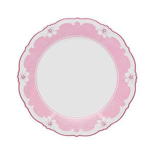 Frühstücksteller 20cm Fahne Baronesse Estelle Pink Solid Hutschenreuther