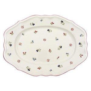 "Platte 44 cm oval ""Petite Fleur"" Villeroy & Boch"