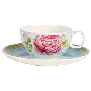 Teetasse m.U. blau Rose Cottage Villeroy & Boch
