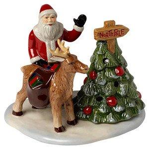 Weg zu Santa 19,5x12x12cm Christmas Toys Villeroy & Boch