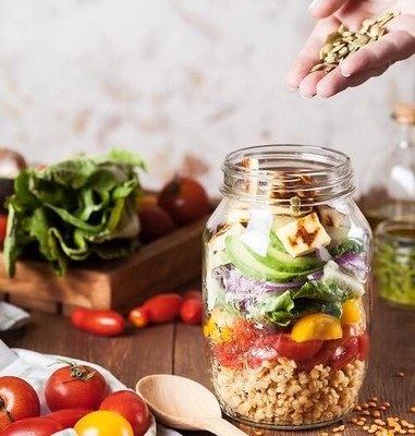 Frischhaltedosen für frische Lebensmittel auf Vorrat