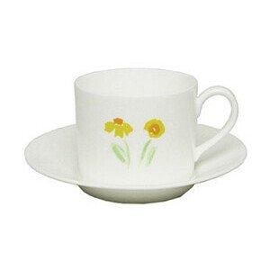 Kaffeeobertasse 0,25l zyl. Impression Blume gelb Dibbern