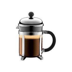Kaffeebereiter Chambord 0,5l schwarz mit Metallsieb Bodum