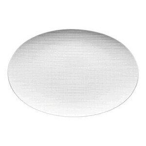 Platte 34 cm Mesh weiss oval Rosenthal