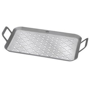 Grillpfanne Style Edelstahl 43x25x6cm Küchenprofi