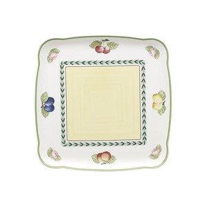"Platte 30 cm x 30 cm eckig ""French Garden Charm& Breakfast"" Villeroy & Boch"