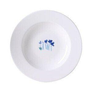 Teller tief 23cm Impression Blume Blau Dibbern