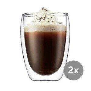 Cappuccinoglas 2er-Set 0,35 l Pavina Bodum