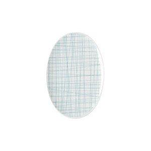 Platte 18 cm Mesh Line Aqua Rosenthal