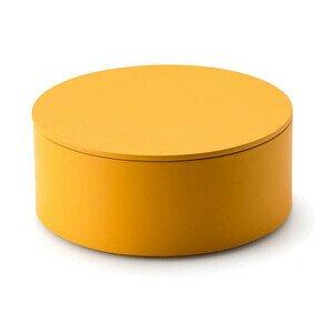 Aufbewahrungsdose 19 cm gelb Continenta