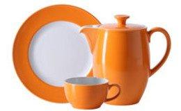 Solid Color Orange (Porzellan)