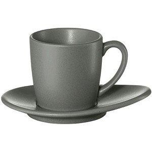 Espressotasse mit Untertasse 60 ml Cuba grigio ASA