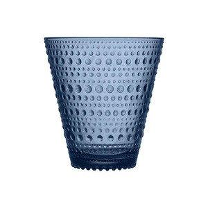 Trinkglas 0,3 l Kastehelmi regenblau iittala