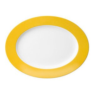 Platte 33 cm oval Sunny Day Yellow yellow Thomas