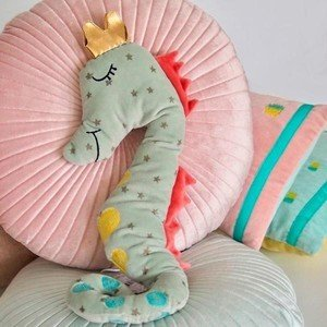 Kissen Goldheart Seahorse Noi