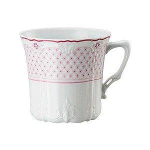 Kaffee-Obertasse Baronesse Estelle PinkGrid Hutschenreuther