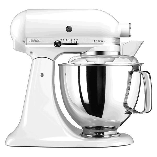 Küchenmaschine 300 Watt 5KSM175 Artisan weiss - Küchenmaschinen ...