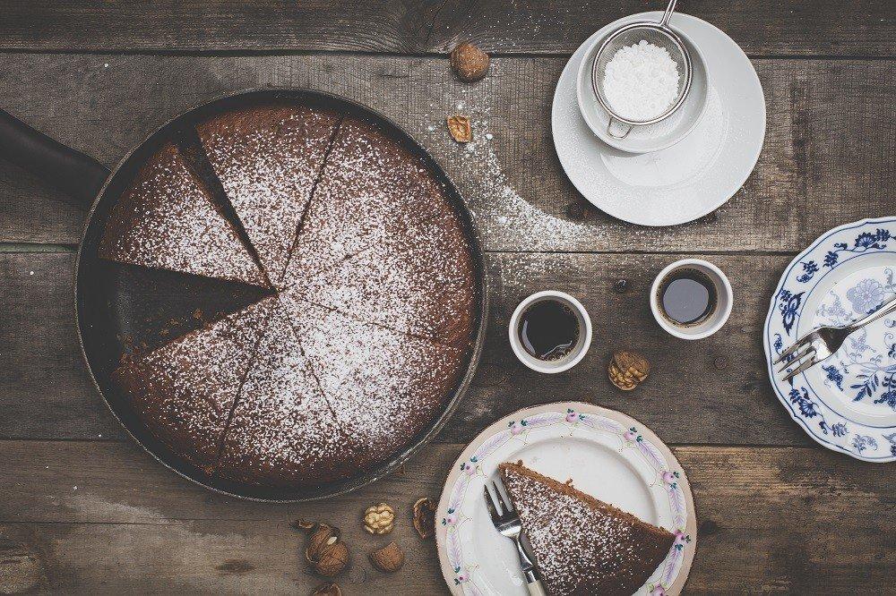 Besteck für Kuchen.