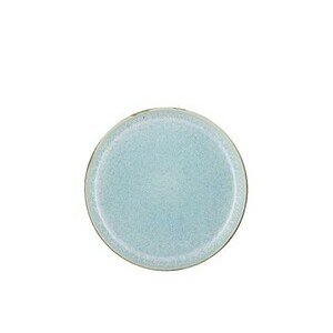 Teller 21 cm grau, hellblau Bitz