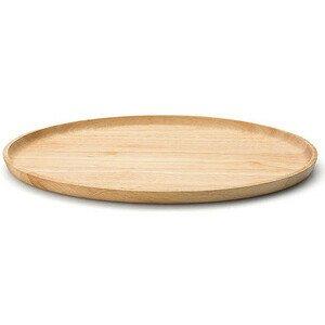 Tablett oval 36,5 cm Gummibaum Continenta