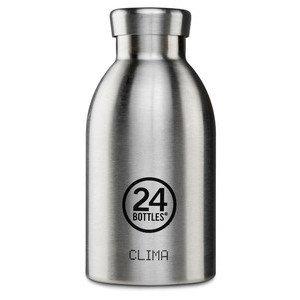 Thermo-Trinkflasche 0,33l Clim 24Bottles Edelstahl 24bottles