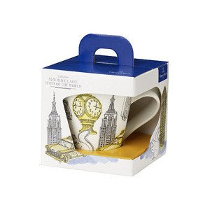 "Becher mit Henkel 350 ml ""New Wave Caffe New York"" Villeroy & Boch"