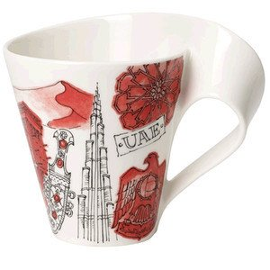 Becher m. Henkel 0,3 l Dubai Cities of the World Mug Villeroy & Boch