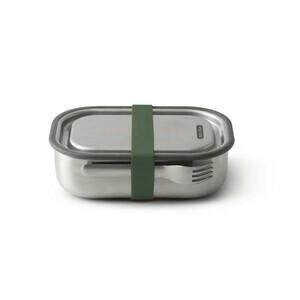Lunchbox 1l Edelstahl olive Black+Blum