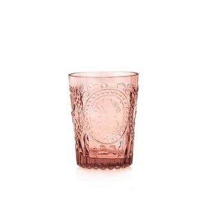 Wasserglas S Fleur de Lys pink Van Verre