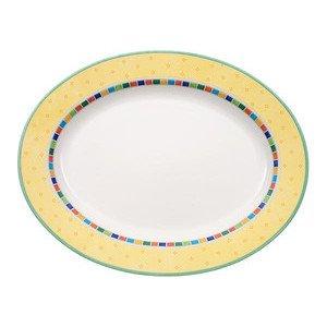 """Platte 41 cm oval """"Twist Alea Limone"""" Villeroy & Boch"""