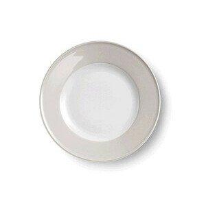 Teller flach 21 cm Solid Color pearl Dibbern