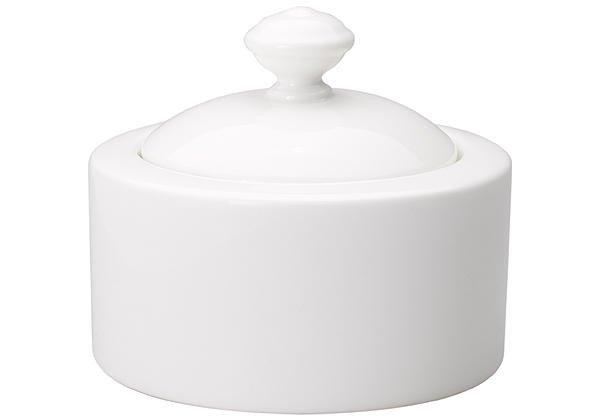zuckerdose 0 20l twist white zuckerdosen tischaccessoires geschirr tischwelt online shop. Black Bedroom Furniture Sets. Home Design Ideas