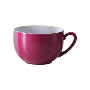 Jumbo Obertasse 0,6l Solid Color bordeaux Dibbern