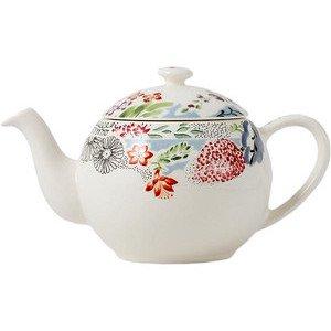 """Teekanne 1,1 l """"Flora"""" Faienceries de Gien"""