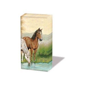 Papiertaschentücher Horses Ambiente