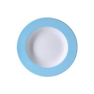 Spaghetti Teller 31 cm Fahne Solid Color hellblau Dibbern
