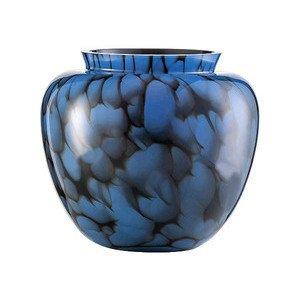 Vase H. 20,8 cm schwarz/blau Splash Zwiesel 1872