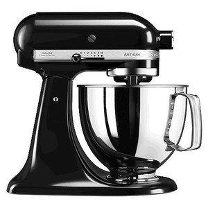 Küchenmaschine 300 Watt mit Upgrade 5KSM175 Artisan onyx schwarz Kitchen aid