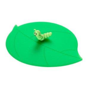 Sommerdeckel Raupe Silikon grün Blattform Lurch