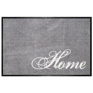 Fußmatte waschbar Home grau Gift Company