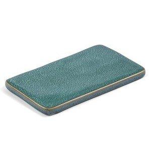 Beilagenplatte 22x13 cm grün Bitz